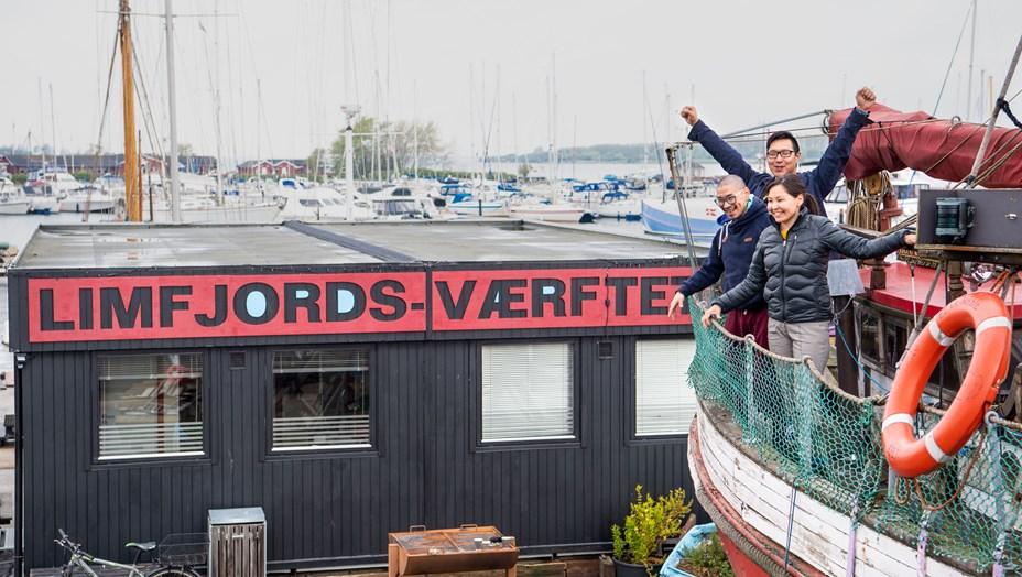 Nyt på Limfjords-Værftet: Arctic Street Food flytter ind