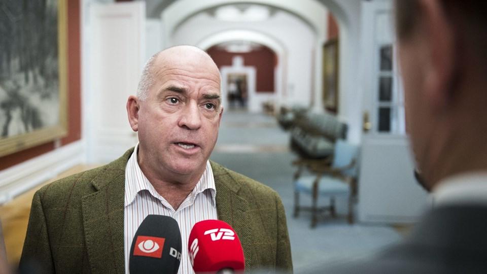 Søren Espersen er klar til at vælte regeringen. Foto: Scanpix