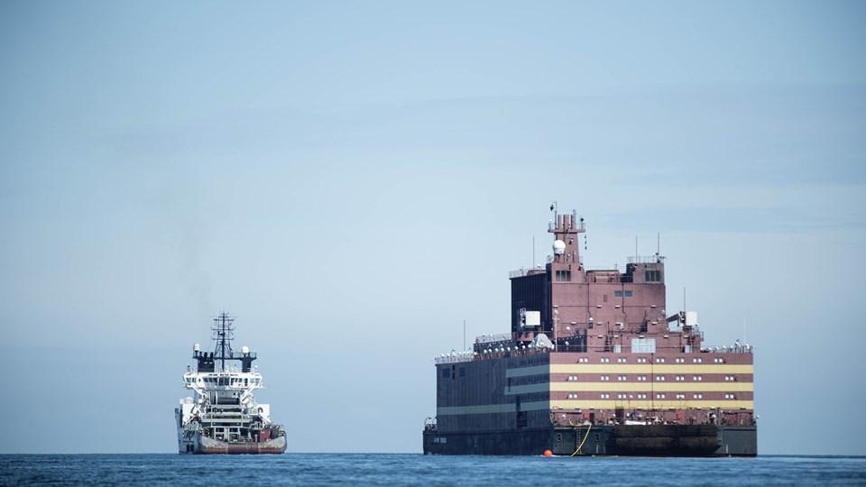 Verdens første flydende atomkraftværk har passeret Danmark. Arkivfoto: Scanpix/Tim Kildeborg Jensen