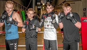 Unge talenter langer nye øretæver ud: Første boksestævne i årtier i Løgstør