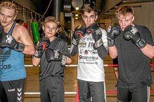 742eeb8a Unge talenter langer nye øretæver ud: Første boksestævne i årtier i Løgstør