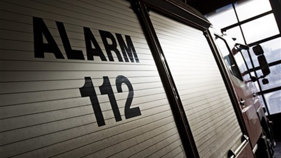 En tilbygning til produktionsskolen i Hobro brød torsdag aften i brand. Arkivfoto