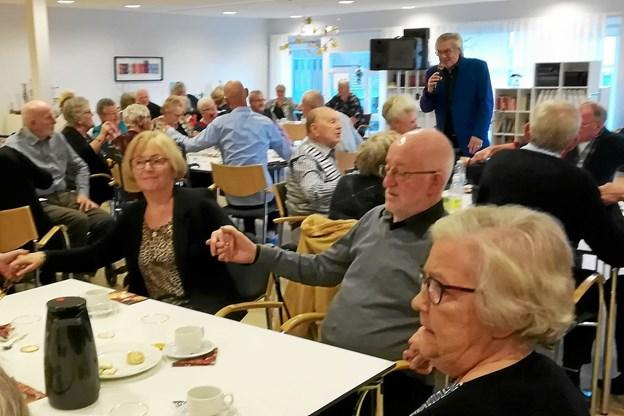 60 deltagere hyggede sig på Fjordparken. Privatfoto Allan Mortensen