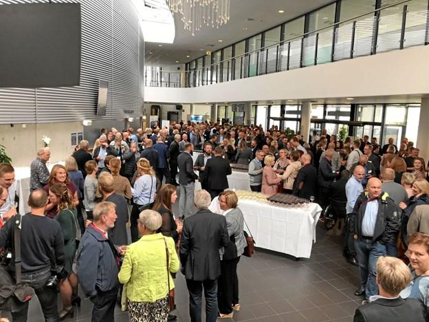 Erhvervsfolk fra hele kommunen fandt sammen om erhvervslivets dilemmaer i Arena Nord