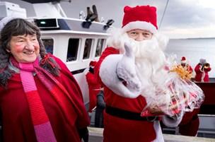 Jul med skib og sirener