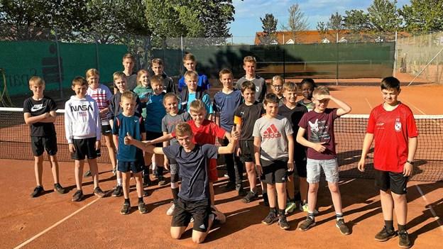 Et aktivt år for Thisted Tennisklub