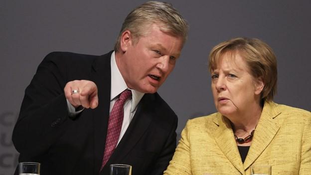 Delstatsvalg i Niedersachsen kan styrke Merkel i svære forhandlinger