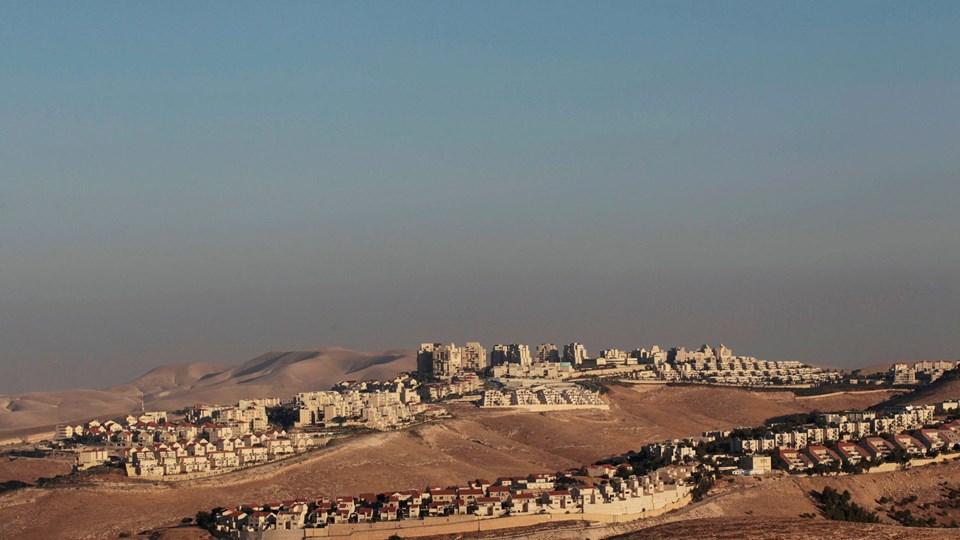 A view of the West Bank Jewish settlement of Maale Adumim is seen near Jerusalem Foto: Reuters/Ammar Awad