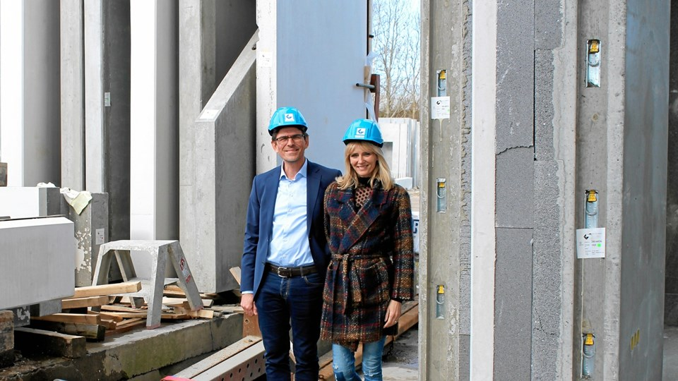 Karsten Wentzel Henning Jensen og Mai-Britt Wentzel Jensen kan se tilbage på et særdeles godt år.