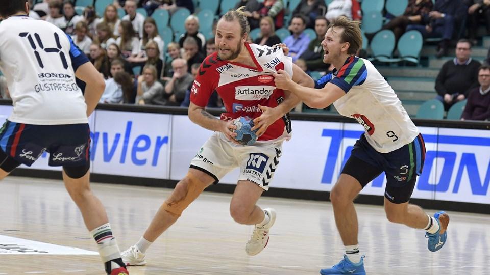 Henrik Møllgaard og Aalborg Håndbold har defensiven klar. Arkivfoto: Bente Poder