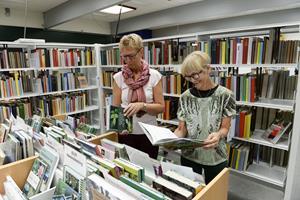 Har lånt bøger ud i 40 år