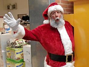 Julemanden i Bindslev den 21. juni