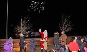 Julemand på hjul til Rakkeby