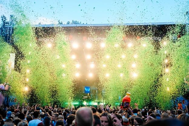 Der var masser af stemning, da The Script spillede på årets festival - nu er salget af billetter til næste år skudt i gang. Foto: Nibe Festival