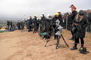 Imens alle kigger på Rubjerg Knude Fyr: Sådan vil de holde fast i opmærksomheden