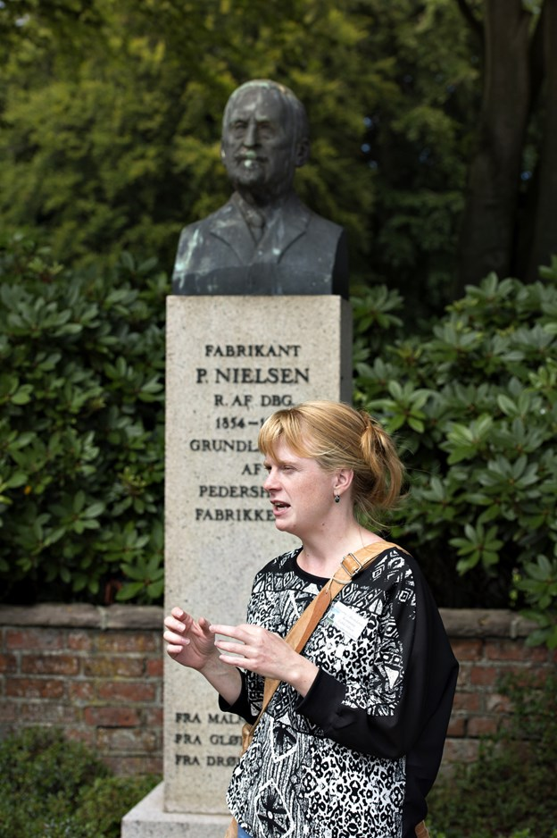 Museumsinspektør Lykke Olsen.Arkivfoto: Henrik Louis