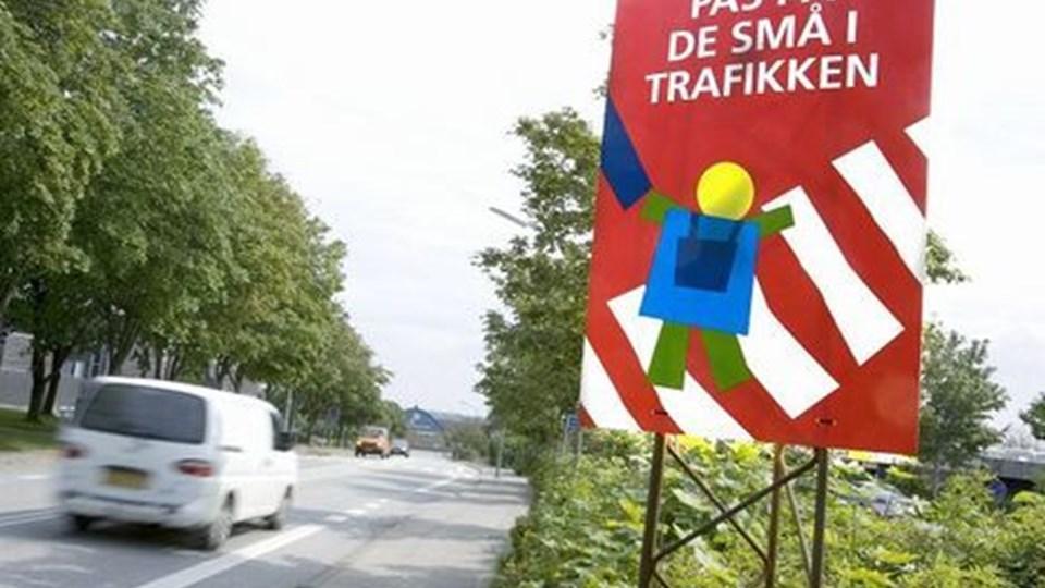Man skal som trafikant være særligt opmærksom på børn i trafikken. Dem er der mange af i den komme uge, hvor skolestarten gør, at mange nye, uerfarne trafikanter er på gaderne for første gang. Foto: Bente Poder
