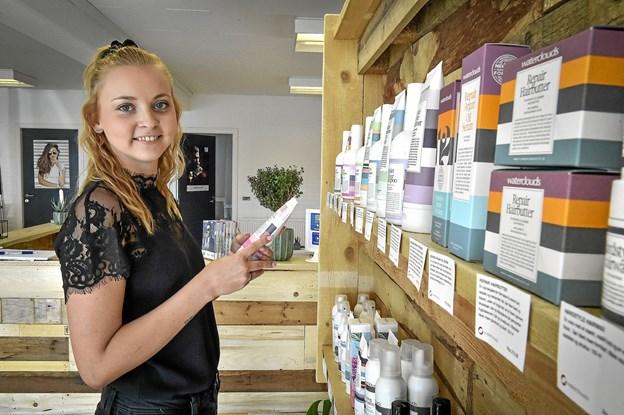 Majken Sønderskov bruges næsten udelukkende såkaldte grønne produkter. Foto: Ole Iversen