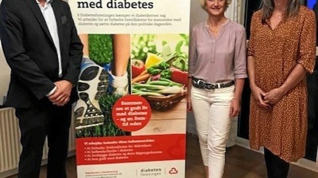 Diabetesforeningen i Brønderslev har taget hul på sæsonen. Privatfoto