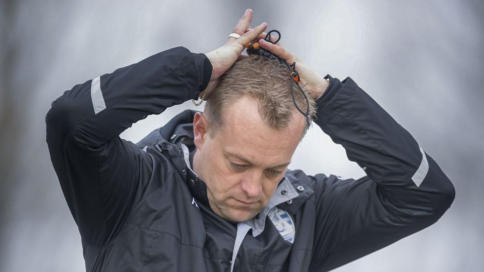 Bo Zinck måtte nok engang se sit hold gå målløst fra banen. Arkivfoto: Lars Pauli