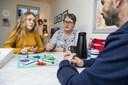 Hjerterum: Yvonne og Peter er 11-årige Sheilas lyspunkt