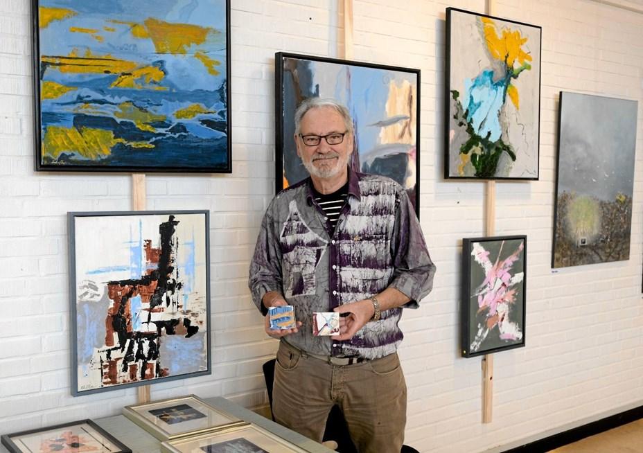 Flot og inspirerende kunst- og hobbyudstilling