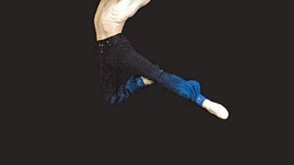 Johan Kobborg, solodanser på Royal Ballet, var en af de absolutte stjerner ved balletaftenen på Nordjyllands Kunstmuseum.PR-foto
