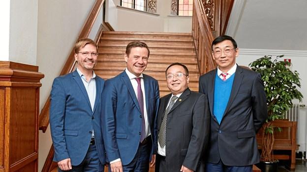 Kinesere åbner udviklings-fabrik i Aalborg: Mange arbejdspladser på vej