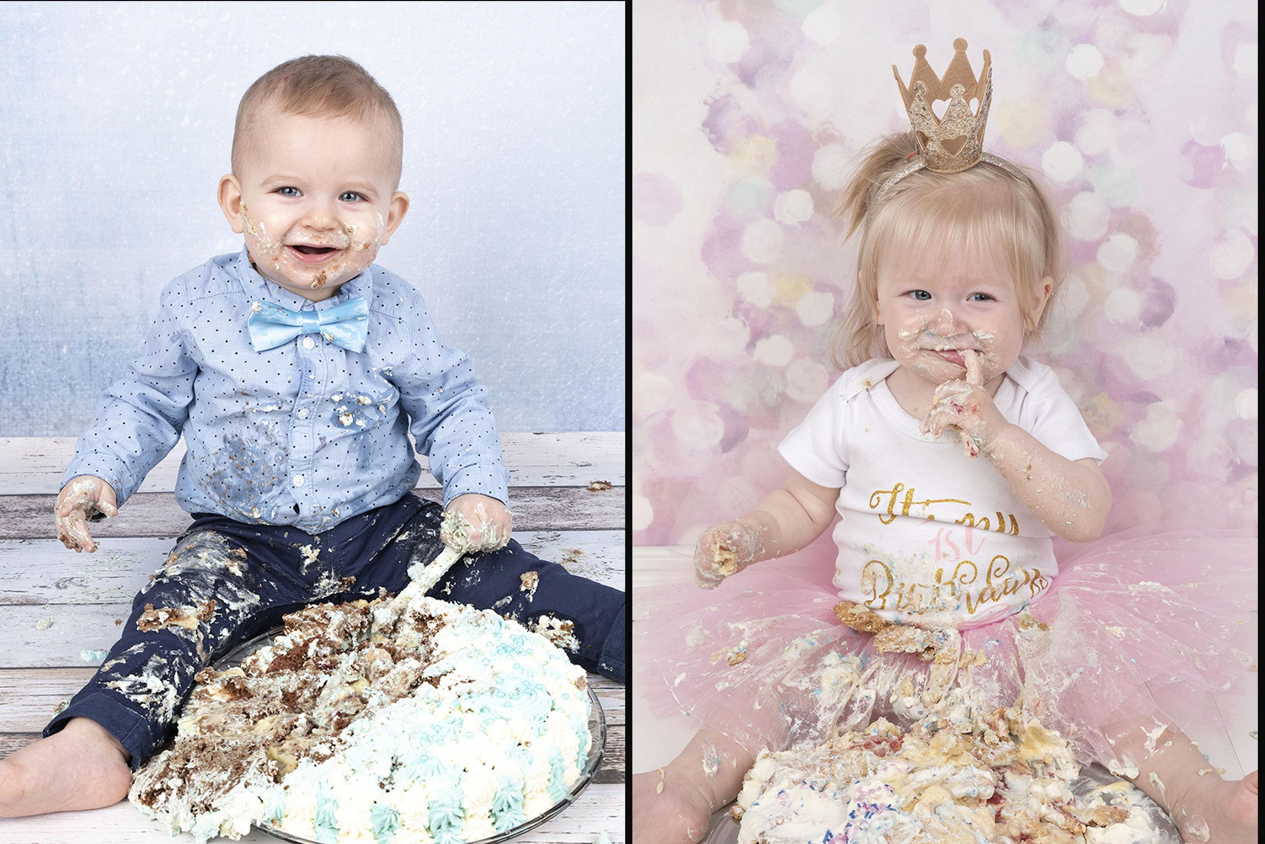 Få dit barns første fødselsdag foreviget