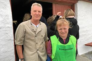 Fisk og fest gav overskud: Stenbjergdagen slår besøgs-rekord