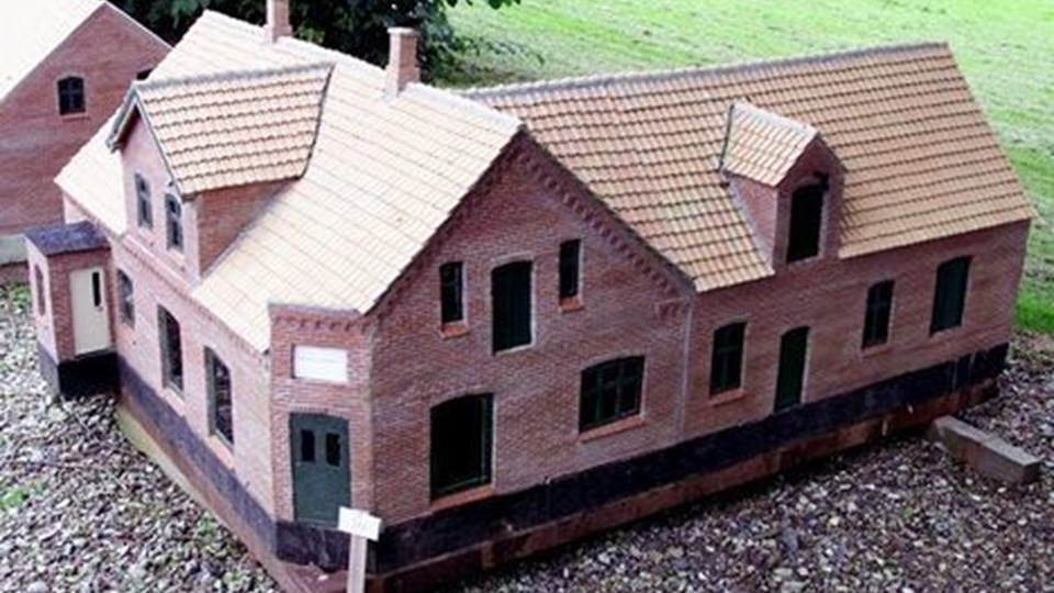 Foreløbig er der opført 40 huse i Frøstrup Minilandsby, planen er at komme op på 80. Arkivfoto