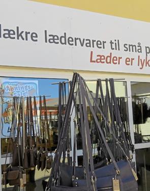 LæderCentret i Randers har åbnet butik i Løkken