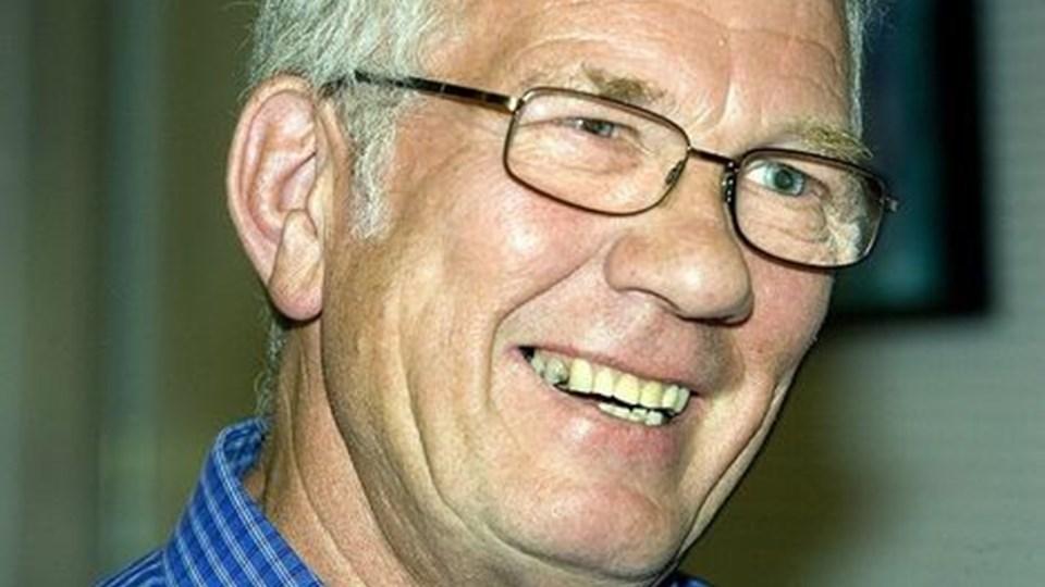 Bendt C. Jørgensen synes det bedste ved Hobro er, at der sker en masse for de ældre. FOTO: PER KOLIND