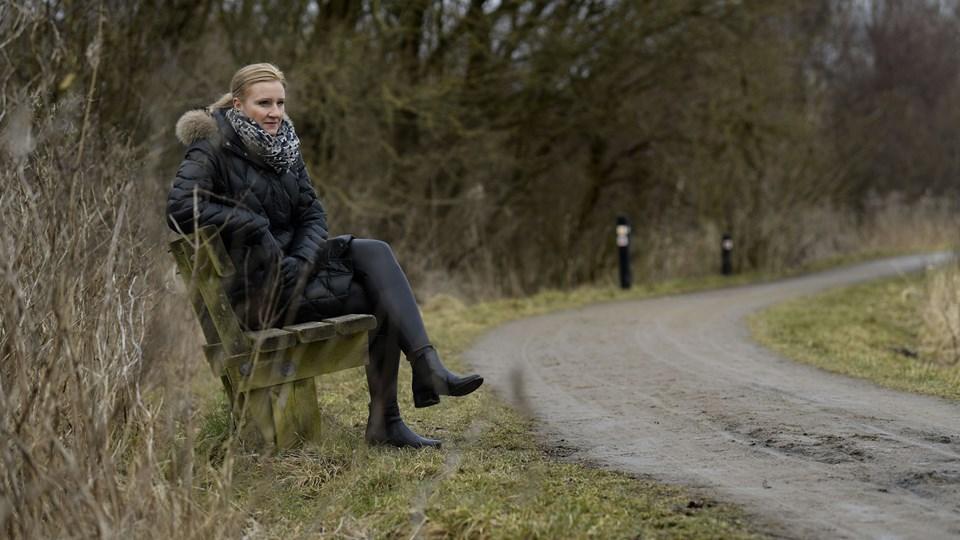 Diana Sørensen ser Aalborg som hendes base. Både privat og erhvervsmæssigt. Foto: Claus Søndberg