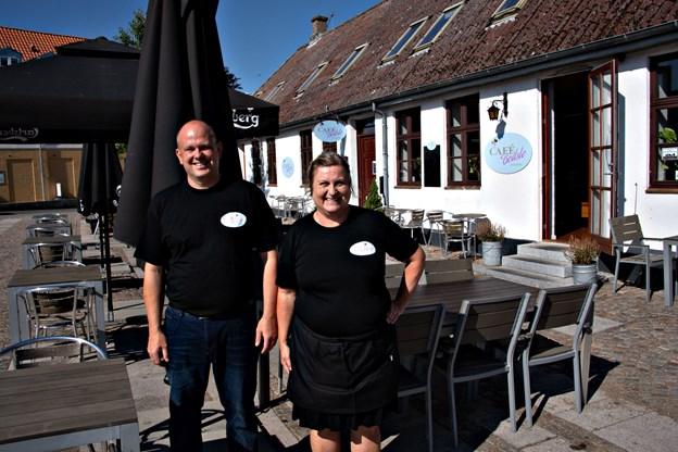 Camilla Gammelgaard og Kurt Bering