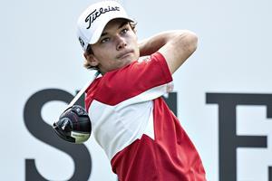 Dansk golftalent klarer første cut på European Tour