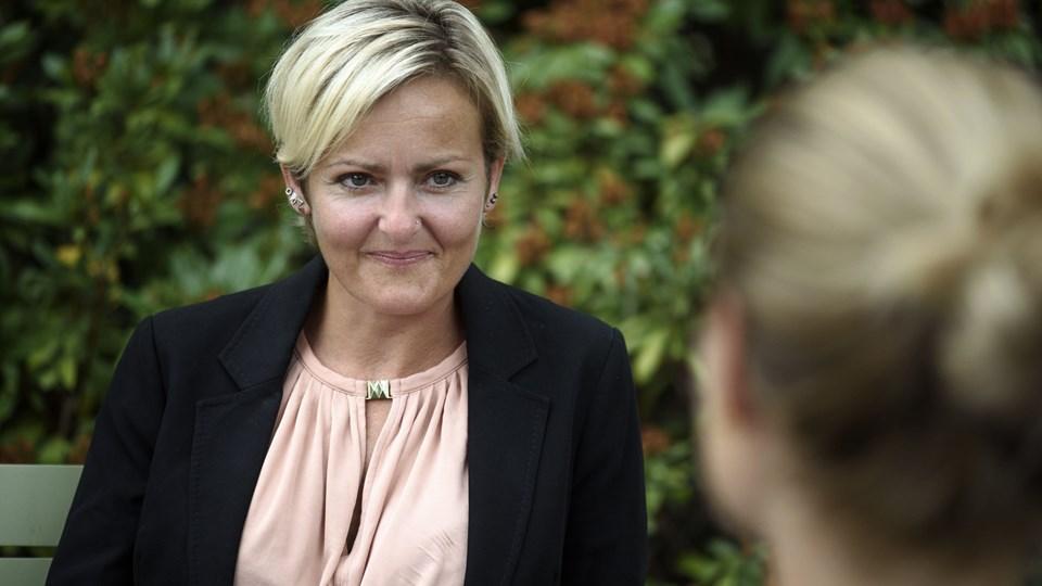 Socialdemokratiets socialordfører, Pernille Rosenkrantz-Theil, mener, at det urimeligt, at mange børn ifølge ny rapport falder under fattigdomsgrænsen. (Arkivfoto).