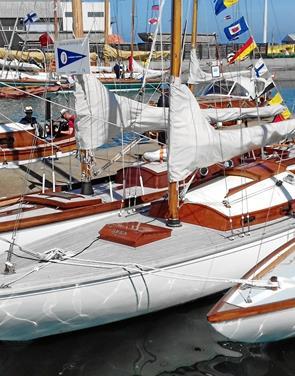 21 klassiske lystbåde besøgte Frederikshavn