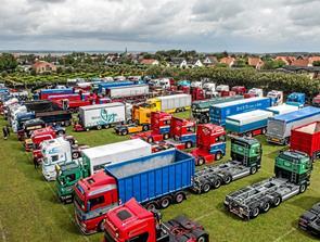 Vejret drillede truckshow