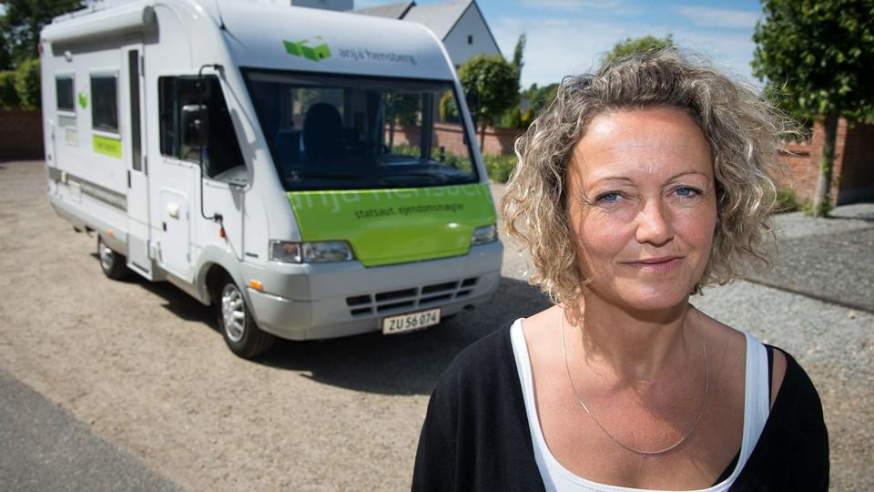 Anja Hensberg medvirker i DR-programmet Udkanstmæglerne, der bliver sendt 8 søndage på DR2. Arkivfoto: Bo Lehm