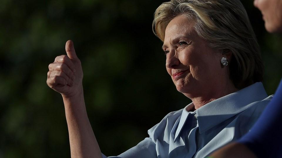 Hillary Clinton Campaigns On Labor Day In Ohio And Iowa Foto: Scanpix/Justin Sullivan