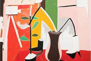 Stilleben: Nej det er ikke ben, der står stille, men malerier af opstillinger. Det kan ses i Vrå lige nu