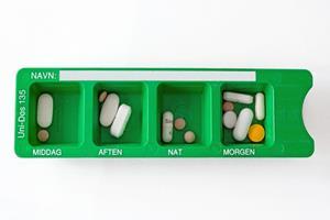Intelligent æske skal uddele piller