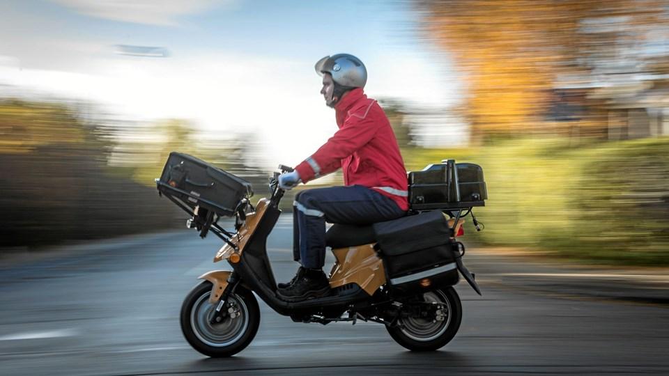 Slut med postudbringning på lørdage. Foto: Henrik Petit