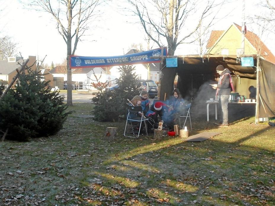 Spejderne sælger juletræer igen i Gistrup