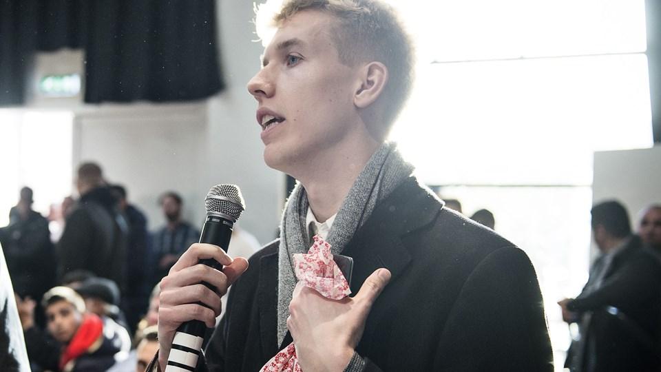 Det er tidligere LAU-formand Rasmus Brygger, der i fællesskab med kvindelige medlemmer har arrangeret, at vidnesbyrdene bliver fremlagt på LAU's landsmøde lørdag. (Arkivfoto.)