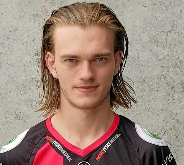 Kasper Kaller vender hjem til Frederikshavn, hvor han vil gøre sit til at forsvar Blackhawks danske mesterskab. Privatfoto