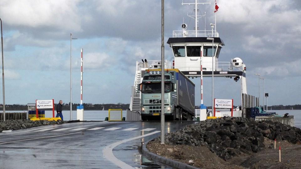 Morsø Kommune ønsker at etablere en ny havn ved Feggesund med blandt andet nyt slæbested og informationshus.   Arkivfoto: Gerda Buhl Andersen