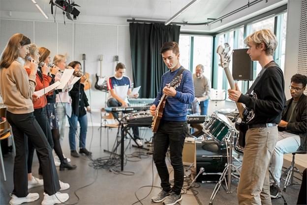 Musik er et af de kreative fag, man kan vælge på STX