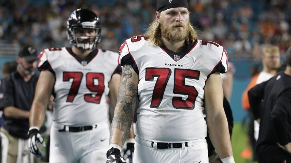 Andreas Knappe for Atlanta Falcons Foto: /ritzau/AP/Lynne Sladky/arkiv